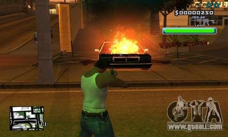 C-HUD Compact for GTA San Andreas forth screenshot