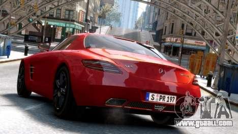 Mercedes-Benz SLS AMG 2011 [EPM] for GTA 4 back left view