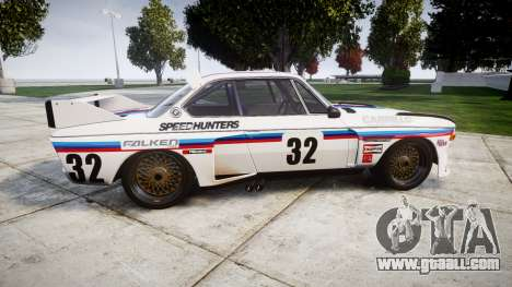 BMW 3.0 CSL Group4 [32] for GTA 4 left view