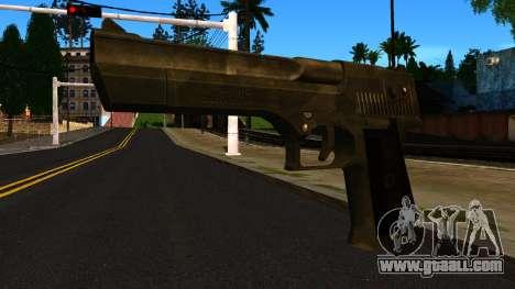 Desert Eagle from GTA 4 for GTA San Andreas