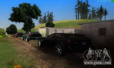 New transport routes for GTA San Andreas fifth screenshot