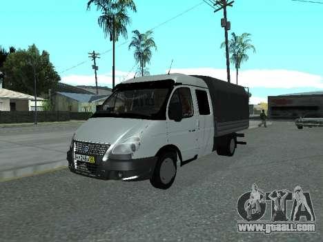 GAZelle 33023 Farmer for GTA San Andreas