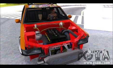 Taxi Extreme Tuning (Hellalfush) for GTA San Andreas right view