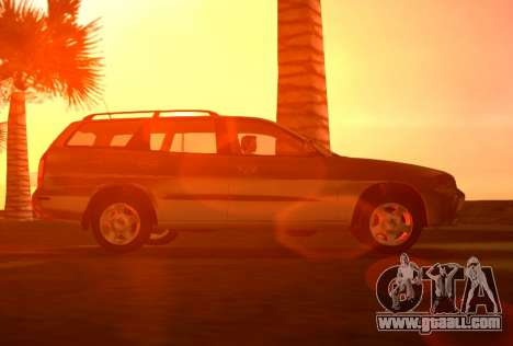 Daewoo Nubira I Wagon CDX US 1999 for GTA Vice City back view