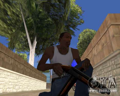 HD Weapon Pack for GTA San Andreas forth screenshot