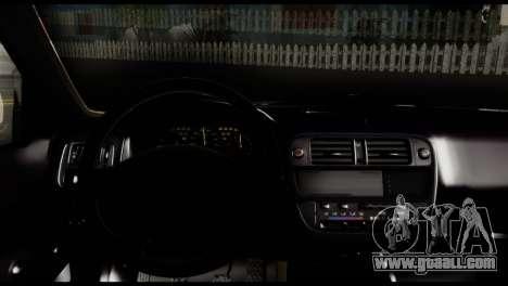 Honda Civic 1.4 Mehmet ALAN for GTA San Andreas back left view