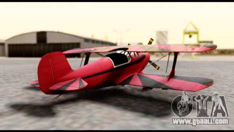 Beta Stuntplane for GTA San Andreas left view