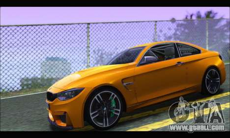 BMW M4 F80 Coupe 1.0 2014 for GTA San Andreas left view