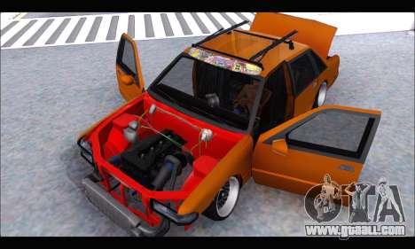 Taxi Extreme Tuning (Hellalfush) for GTA San Andreas back view