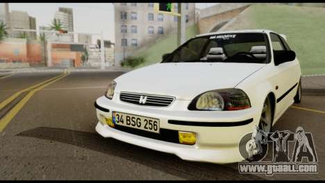 Honda Civic 1.4 Mehmet ALAN for GTA San Andreas