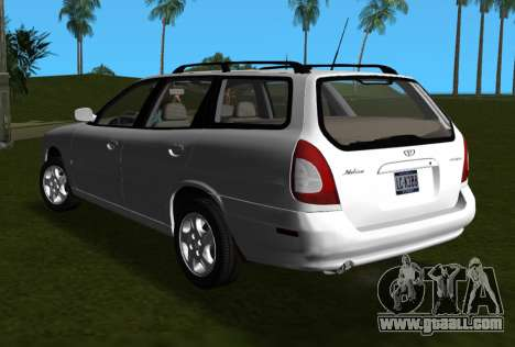 Daewoo Nubira I Wagon CDX US 1999 for GTA Vice City left view