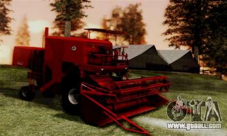 FMZ BIZON Super Z056 1985 Red for GTA San Andreas back left view