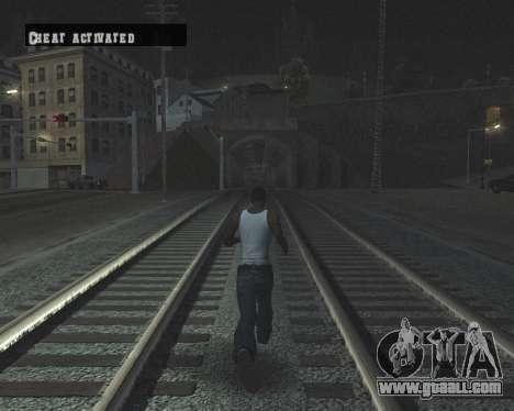 Colormod High Black for GTA San Andreas tenth screenshot