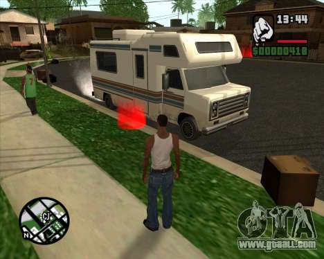 Camping Modification - Beta Version for GTA San Andreas