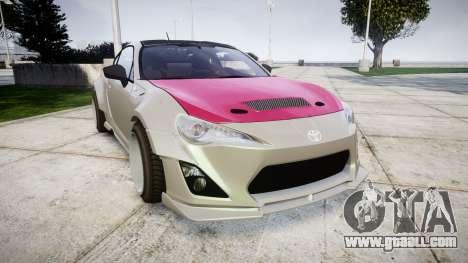 Toyota GT-86 RocketBunny for GTA 4