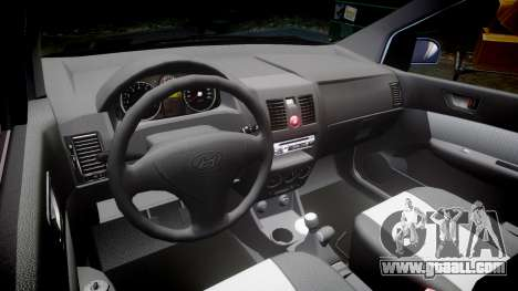 Hyundai Getz 2006 for ENB for GTA 4 inner view