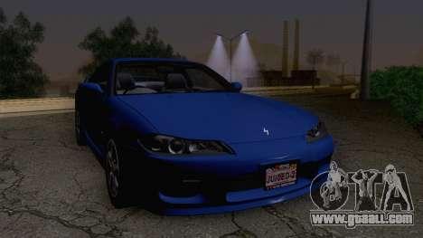 Nissan Silvia S15 Stock for GTA San Andreas