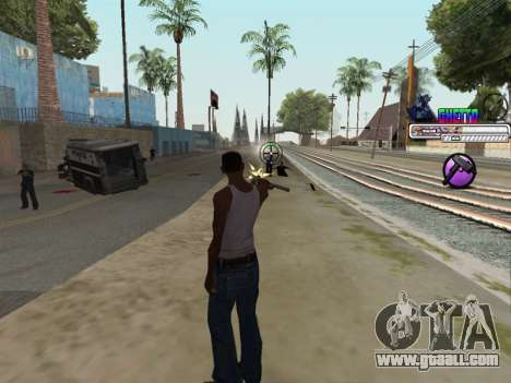 C-HUD Ghetto for GTA San Andreas fifth screenshot
