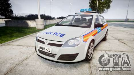 Vauxhall Astra 2005 Police [ELS] Britax for GTA 4