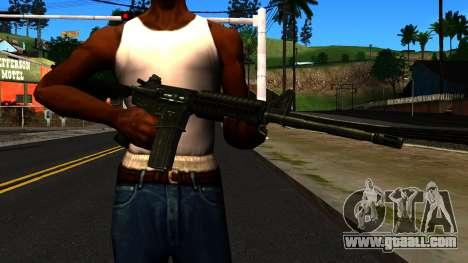 M4 from GTA 4 for GTA San Andreas third screenshot
