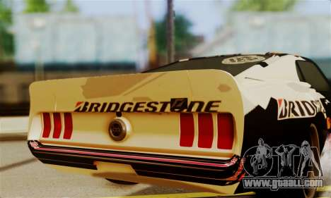 Ford Mustang RTR RedBull for GTA San Andreas right view