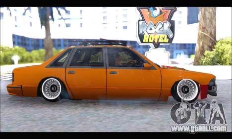 Taxi Extreme Tuning (Hellalfush) for GTA San Andreas left view