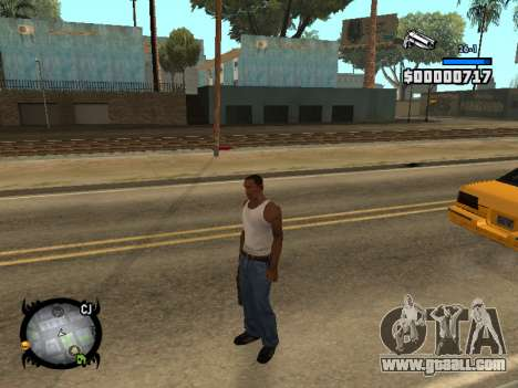 HUD by LMOKO for GTA San Andreas second screenshot