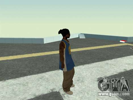 Ballas1 New Skin for GTA San Andreas forth screenshot