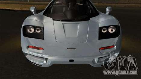 McLaren F1 Autovista for GTA San Andreas right view