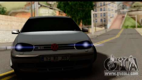 Volkswagen Golf 4 Tuning for GTA San Andreas back left view