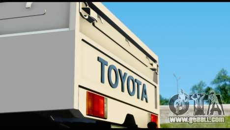 Toyota Land Cruiser Macho Pick-Up 2007 4.500 for GTA San Andreas inner view