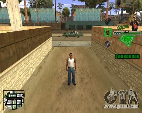 C-HUD Grove St. for GTA San Andreas forth screenshot