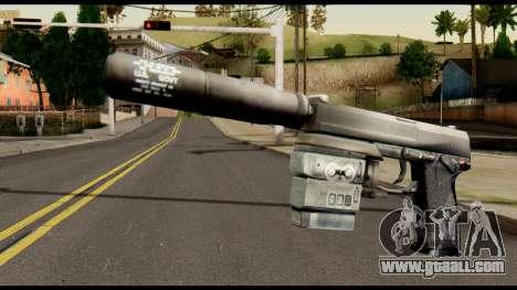 Silenced Socom from Metal Gear Solid for GTA San Andreas