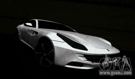 Ferrari FF for GTA Vice City back left view