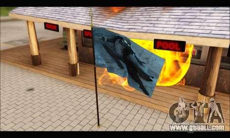 Flag Spiderman Noir for GTA San Andreas