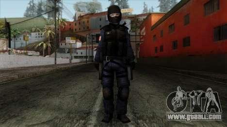 Police Skin 12 for GTA San Andreas