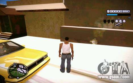 HUD GOSKA for GTA San Andreas forth screenshot