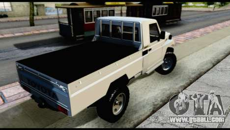 Toyota Land Cruiser Macho Pick-Up 2007 4.500 for GTA San Andreas left view