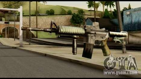 SOPMOD from Metal Gear Solid v3 for GTA San Andreas