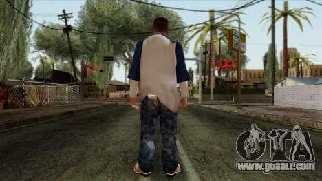 GTA 4 Skin 20 for GTA San Andreas second screenshot