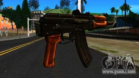 Bright AKS-74U v2 for GTA San Andreas second screenshot