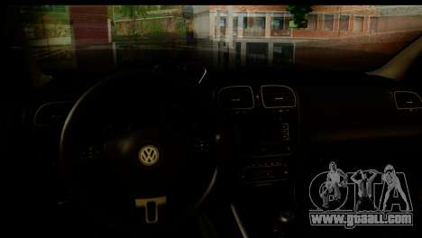 Volkswagen Golf 5 for GTA San Andreas back left view