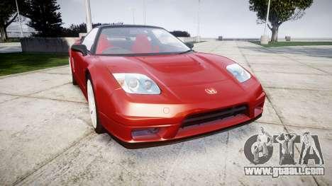 Honda NSX-R for GTA 4