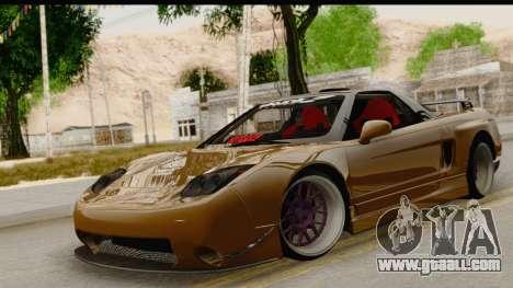 Acura NSX for GTA San Andreas