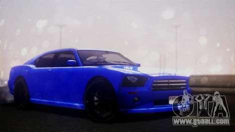 Bravado Buffalo Sedan v1.0 (IVF) for GTA San Andreas