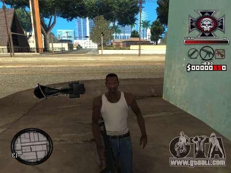 C-HUD for Ghetto for GTA San Andreas third screenshot