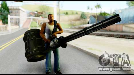 Raven Vulcan Gun from Metal Gear Solid for GTA San Andreas third screenshot