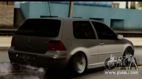 Volkswagen Golf 4 Tuning for GTA San Andreas left view