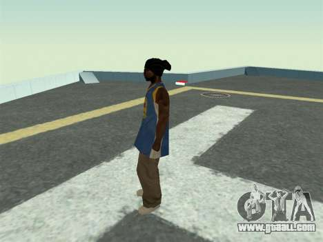 Ballas1 New Skin for GTA San Andreas third screenshot