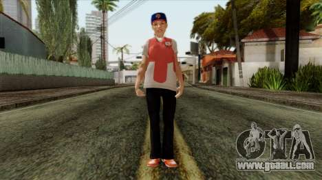 GTA 4 Skin 81 for GTA San Andreas